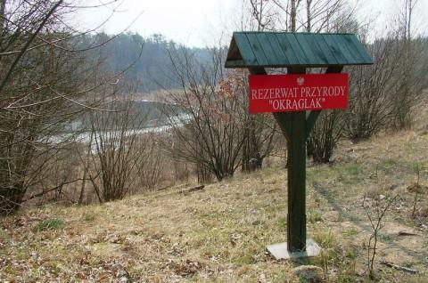 Plan ochrony dla rezerwat przyrody - tablica