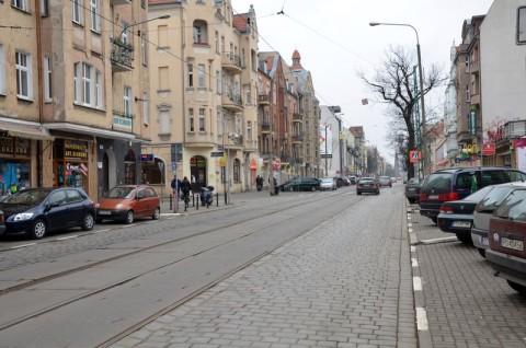 Ulica Dąbrowskiego w Poznaniu - inwentaryzacja przyrodnicza