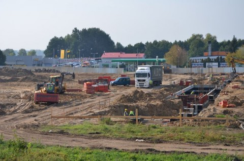 Sieciowy market budowlany w Koninie - nadzór przyrodniczy