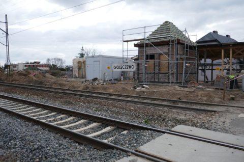 Węzeł przesiadkowy w Chludowie i Golęczewie przy linii kolejowej nr 354 Poznań-Piła - inwentaryzacja dendrologiczna